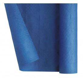 Papieren tafelkleed rol donkerblauw 1,2x7m (25 stuks)