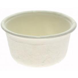Pot Bio à Sauce en Canne à Sucre Blanc 60ml (250 Unités)