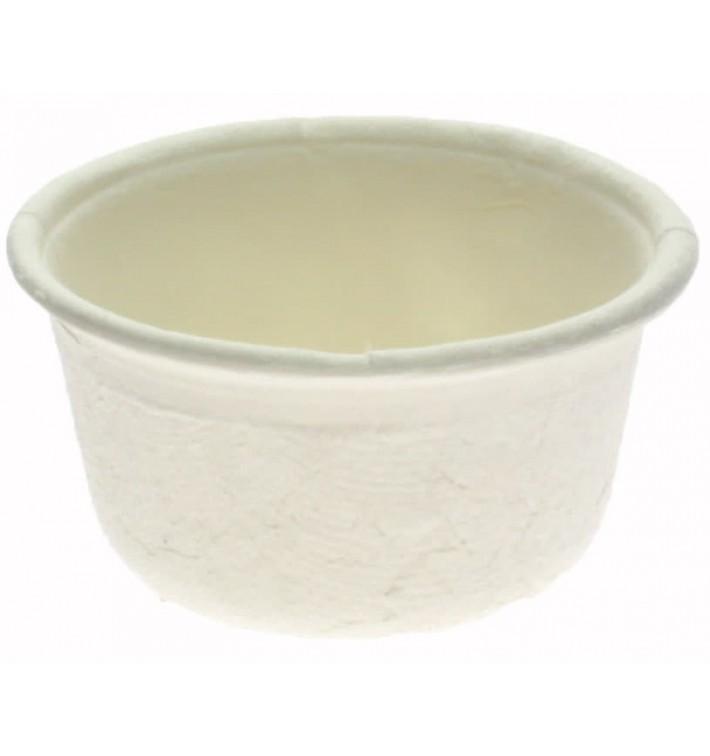 Pot en Canne à Sucre Blanc Ø6,2cm 60ml (250 Utés)