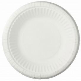 Assiette Creuse en Papier Blanc Ø19cm (1000 Unités)