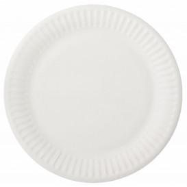Assiette en Papier Blanc Ø15cm (2000 Unités)