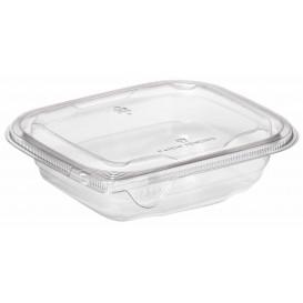Plastic deli Container PET onverbrekelijk 375ml 14x12x4cm (84 stuks)