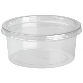 "Plastic deli Container met Deksel rPET ""DeliLite"" 7,6Oz/217ml (50 stuks)"