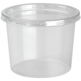 "Plastic deli Container met Deksel rPET ""DeliLite"" 9,8Oz/279ml (500 stuks)"
