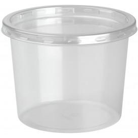 "Plastic deli Container met Deksel rPET ""DeliLite"" 13,2Oz/374ml (500 stuks)"