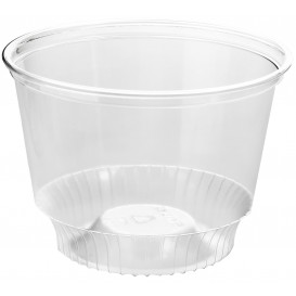 Plastic PET Container Kristal Solo® 8Oz/240ml Ø9,2cm (50 stuks)