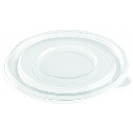 Couvercle Plat pour Bol Plastique PET Ø140mm (50 Utés)