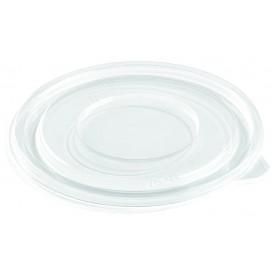 Couvercle Plat pour Bol Plastique PET Ø140mm (500 Utés)