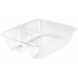 """Plastic deli Container transparant 2C 355ml """"Nachos"""" (125 stuks)"""