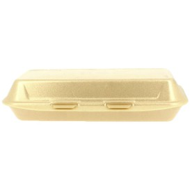 Schuim stokbrood / panini Container 2,85x1,30x0,30cm (300 stuks)