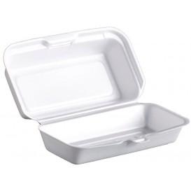 Boîte FOAM HOTDOG Blanc 180x100x60mm (125 Unités)
