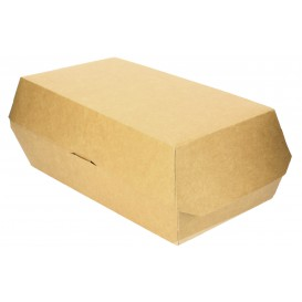 Emballage pour Sandwich Kraft 20x10x8cm (200 Unités)