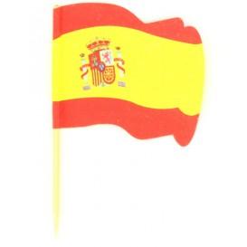 Spain Flag vleespennen 6,5cm (14400 stuks)