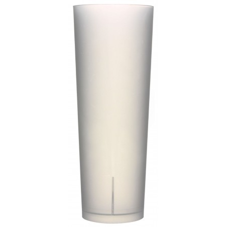 Verre Tube Réutilisable Écologique 330ml PP (10 Utés)