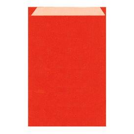 Papieren envelop kraft rood 26+9x38cm (125 stuks)