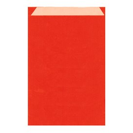 Papieren envelop kraft rood 26+9x38cm (750 stuks)