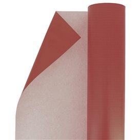 Rouleau de Papier Cadeau Kraft Rouge (1 Unité)