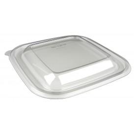 Plastic Deksel voor Kom PET hittebestendig de 12x12x7cm (50 stuks)