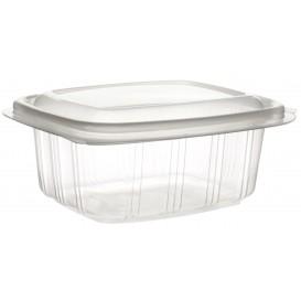Plastic scharnierende Deli-Container microgolfbaar PP hoog koepel Deksel 250ml (50 stuks)