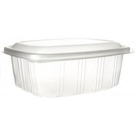Plastic scharnierende Deli-Container microgolfbaar PP hoog koepel Deksel 1000ml (50 stuks)