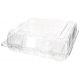 Boîte à charnière Pour Pâtisserie PET 18x18x6cm (220 Utés)
