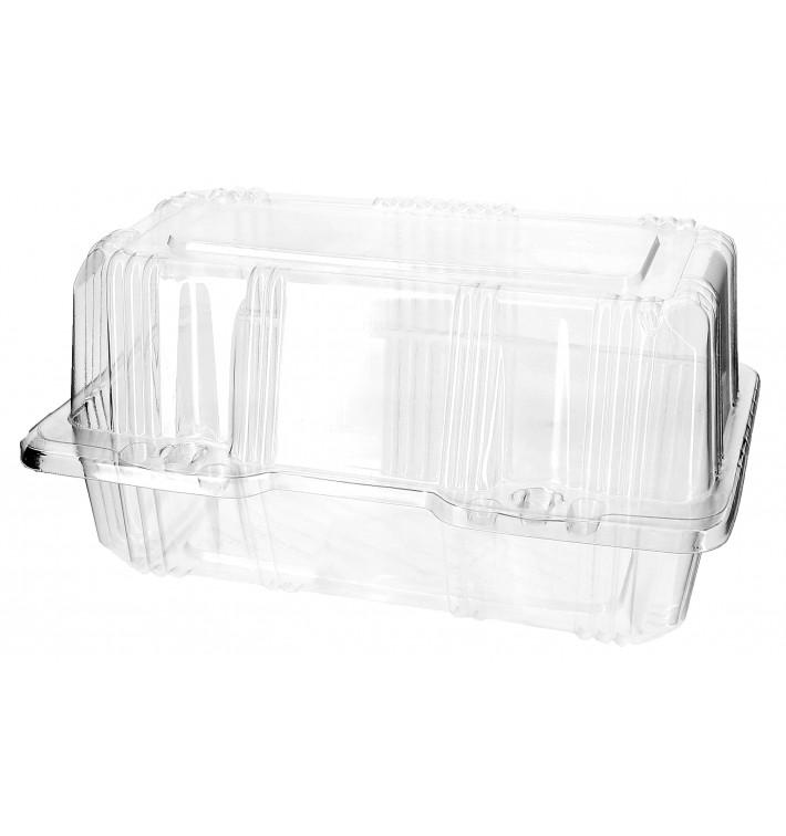 Boîte à charnière Pour Pâtisserie PET 18x9,5x10cm (220 Utés)