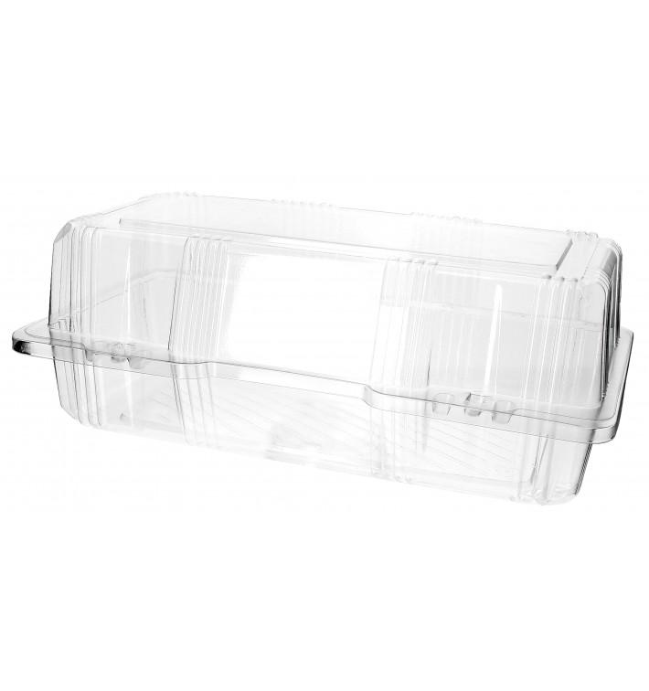 Boîte à charnière Pour Pâtisserie PET 26x13x10cm (20 Utés)
