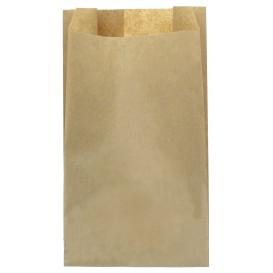 Papieren voedsel zak kraft 12+6x20cm (1000 stuks)