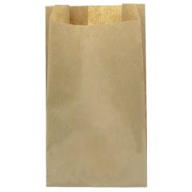 Papieren voedsel zak kraft 18+7x32cm (250 stuks)