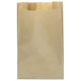 Papieren voedsel zak kraft 22+12x36cm (100 stuks)