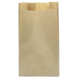 Papieren voedsel zak kraft 22+11x42cm (100 stuks)
