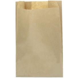 Papieren voedsel zak kraft 30+9x58cm (1000 stuks)