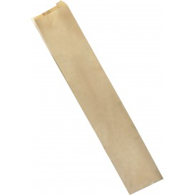 Papieren zak kraft 9+5x24cm (1000 stuks)