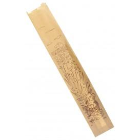 """Sac Papier Kraft """"Siega"""" 9+5x58cm (100 Utés)"""