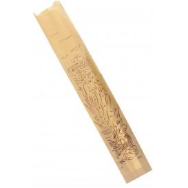 """Sac Papier Kraft """"Siega"""" 9+5x50cm (100 Utés)"""