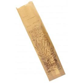 """Sac Papier Kraft """"Siega"""" 12+9x58cm (250 Unités)"""