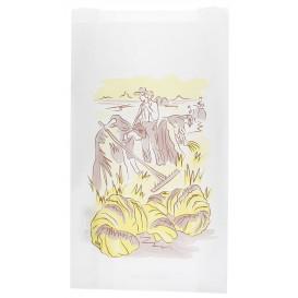 """Sac Papier Blanc """"Siega"""" 12+6x20cm (1000 Unités)"""