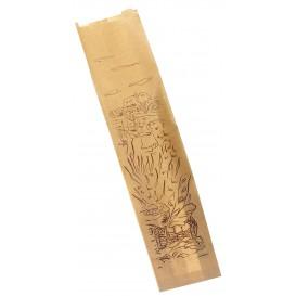 """Sac Papier Kraft """"Siega"""" 9+5x32cm (250 Unités)"""