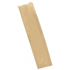 Papieren zak kraft 9+5x32cm (250 stuks)