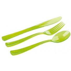 Couverts Fourchette, Couteau, Cuillère Vert (20 Utés)