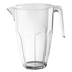 Plastic pot met Deksel transparant SAN Herbruikbaar 2250ml (3 stuks)