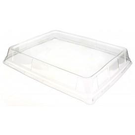 Plastic hoge Deksel voor Platter 31,6x26,5cm (25 stuks)