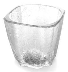 "Verre Réutilisable SAN Mini Drink ""Cube"" 200ml (8 Utés)"
