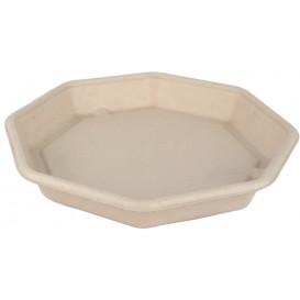 Boîte Canne à Sucre Hexagonale 830ml 230x230x30mm (50 Utés)