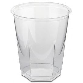 Gobelet Plastique Hexagonal PS Cristal 250ml (1250 Utés)