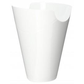 """Proeving plastic PP Container """"Click-Clack"""" wit 80ml (20 stuks)"""