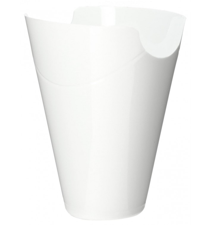 "Boîte Dégustation ""Click-Clack"" PP Blanc 80ml (20 Utés)"