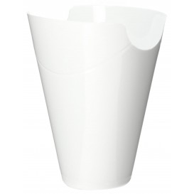 """Proeving plastic PP Container """"Click-Clack"""" wit 180ml (200 stuks)"""