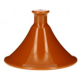 """Plastic Deksel voor Proeving Plastic bord PP """"Tajine"""" Ø7x5,5cm (50 eenheden)"""
