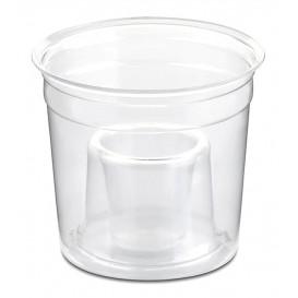 "Plastic PS beker Kristal ""Shot Bomb"" 250ml (50 stuks)"